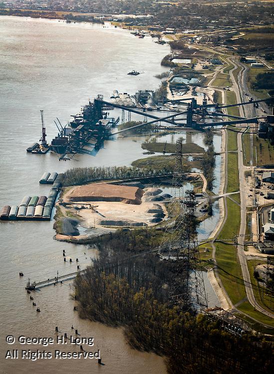 Aerial views around New Orleans