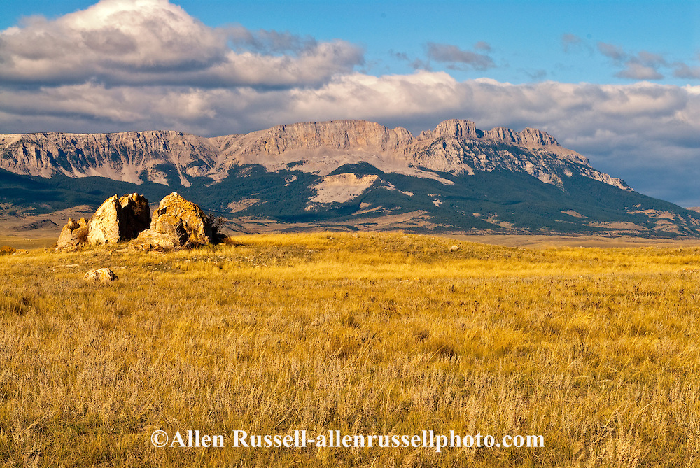 Sawtooth Ridge, Lewis and Clark National Forest, NW of Augusta, Montana