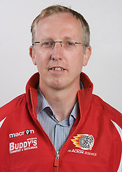 Dr. Kovac Miha at HK Acroni Jesenice Team roaster for 2009-2010 season,  on September 03, 2009, in Arena Podmezaklja, Jesenice, Slovenia.  (Photo by Vid Ponikvar / Sportida)