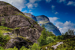 Looking towards the Three Sisters, Glencoe, Highlands of Scotland<br /> <br /> (c) Andrew Wilson   Edinburgh Elite media
