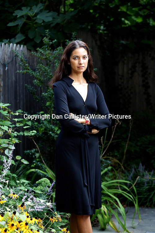 Jhumpa Lahiri, Indian American author. Lahiri's debut short story collection, Interpreter of Maladies (1999), won the 2000 Pulitzer Prize for Fiction, and her first novel, The Namesake (2003), was adapted into the popular film of the same name. She is a member of the President's Committee on the Arts and Humanities, appointed by U.S. President Barack Obama<br /> 26th August 2013<br /> <br /> Photograph by Dan Callister/Writer Pictures<br /> <br /> <br /> WORLD RIGHTS