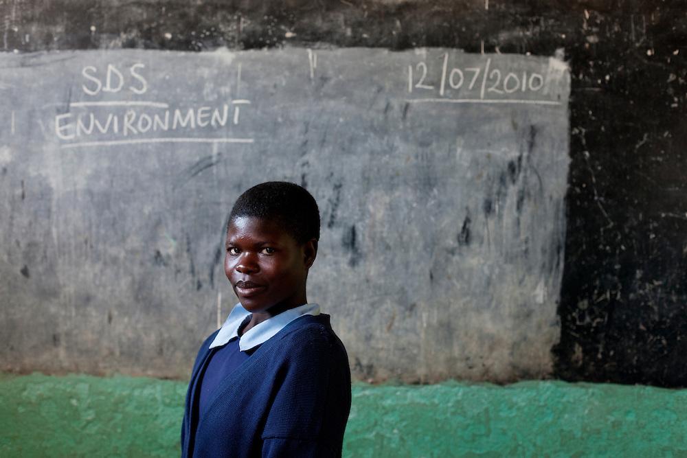 Chimunya Malambo. Chiobola school, Zambia.