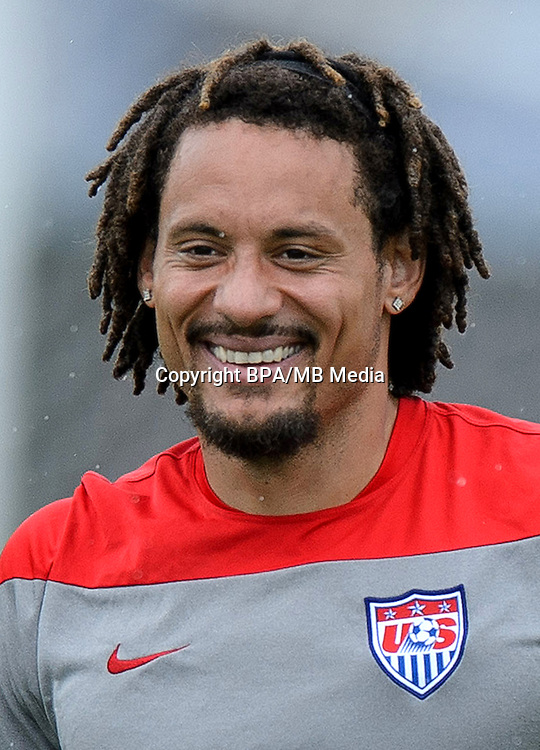 Concacaf- World Cup Fifa Russia 2018 Qualifyer - <br /> USA Soccer National Team - <br /> Jermaine Jones