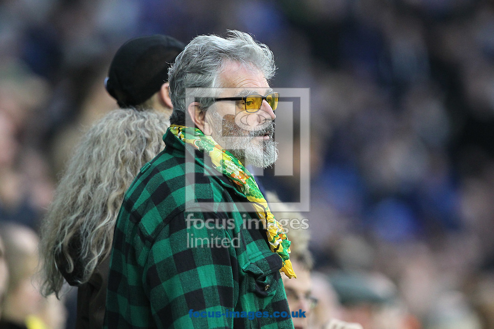 A traveling Norwich fan's face say it all after his side concedes it&rsquo;s 4th goal during the Sky Bet Championship match at the American Express Community Stadium, Brighton and Hove<br /> Picture by Paul Chesterton/Focus Images Ltd +44 7904 640267<br /> 29/10/2016