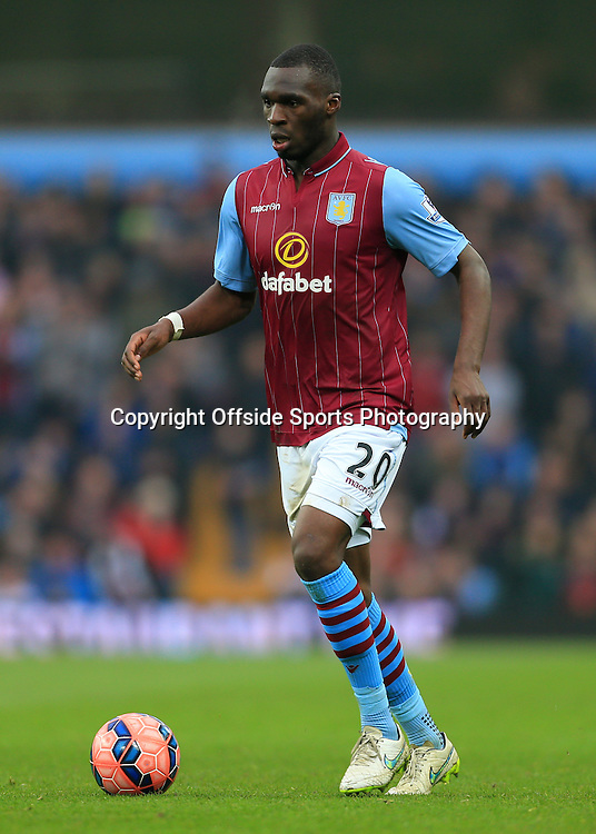 15th February 2015 - FA Cup 5th Round - Aston Villa v Leicester City - Christian Benteke of Villa - Photo: Simon Stacpoole / Offside.