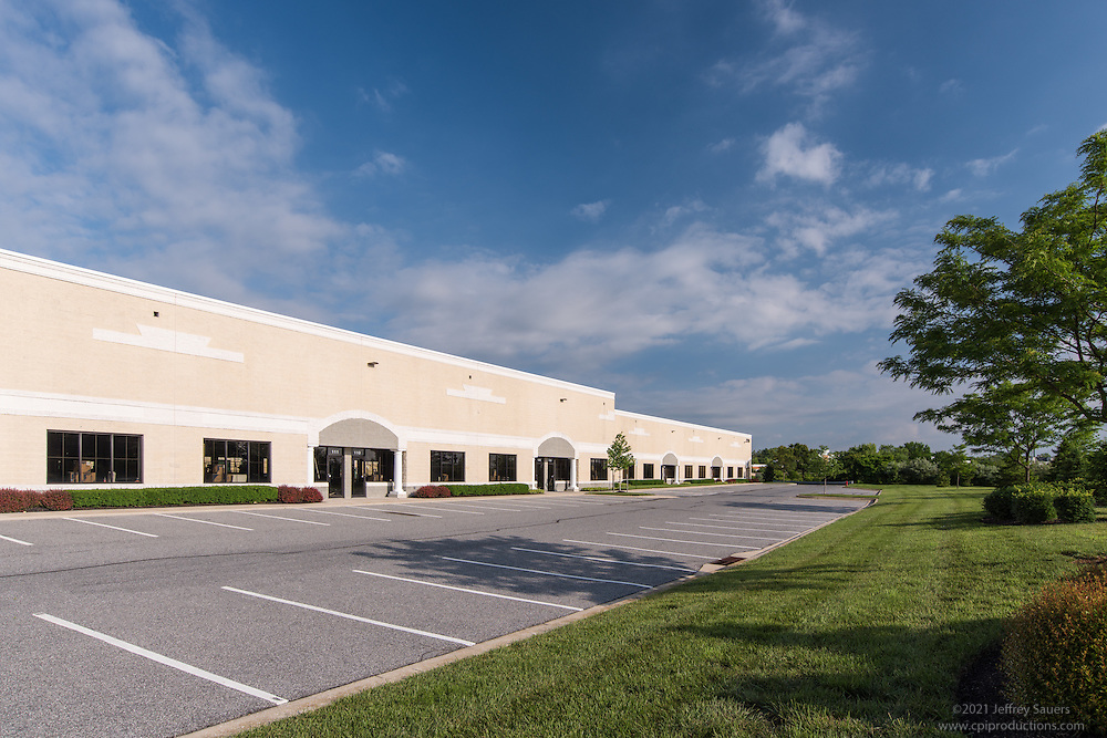 Exterior image of 2709 N. Rolling Rd. Building in Maryland by Jeffrey Sauers of Commercial Photographics, Architectural Photo Artistry in Washington DC, Virginia to Florida and PA to New England