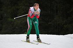SKORABAHATAYA Yadviha Guide:  NARFRANOVICH, BLR at the 2014 IPC Nordic Skiing World Cup Finals - Long Distance