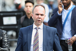 © Licensed to London News Pictures. 22/05/2019. London, UK. Government Chief of Staff Gavin Barwell arrives at Parliament ahead of Prime Minister's Questions. Photo credit: Peter Macdiarmid/LNP