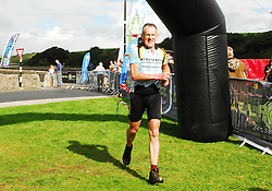 Noel Brady finishing in 10th place in Gaelforce...Pic Conor McKeown