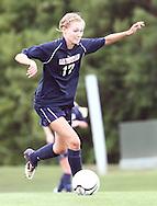May 12, 2012; Huntsville, AL, USA;  Oak Mountain's Emma Roberson (17) controls the ball against Auburn. Mandatory Credit: Marvin Gentry