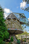 Mushroom House photo, Cincinnati, Ohio.