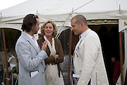 Marc Newson; Lady Conran; Jonathan Ive, The Cartier Style et Luxe Concours lunch at the Goodwood Festival of Speed. July 13, 2008  *** Local Caption *** -DO NOT ARCHIVE-© Copyright Photograph by Dafydd Jones. 248 Clapham Rd. London SW9 0PZ. Tel 0207 820 0771. www.dafjones.com.