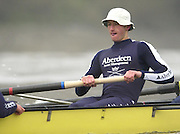 © Peter Spurrier.Tel + 441494783165 email 10/12/2003 - Photo  Peter Spurrier.Oxford University trail eights - Colin  SMITH, River Thames Putney to Mortlake Varsity; Boat Race