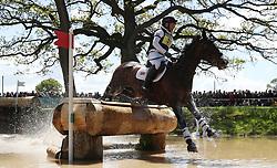 November Night ridden by Ciaran Glynn on the Cross Country during day four of the 2019 Mitsubishi Motors Badminton Horse Trials at The Badminton Estate, Gloucestershire. PRESS ASSOCIATION Photo. Picture date: Saturday May 4, 2019. See PA story EQUESTRIAN Badminton. Photo credit should read: David Davies/PA Wire