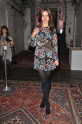 FUSCHIA SUMNER at a party to celebrate the launch of the CLub Monaco brand at Browns held at the Royal Academy of Art, Piccadilly, London on 19th February 2011.