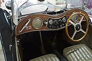 Green MG 1946 classic British sports car
