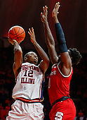 NCAA Basketball - Illinois Fighting Illini vs North Carolina State Wolfpack - Champaign, Il