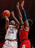 NCAA Basketball - Illinois Fighting Illini vs North Carolina State Wolfpack - Champaign, Il