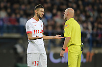 Yannick FERREIRA CARRASCO / Tony CHAPRON  - 10.04.2015 - Caen / Monaco - 32e journee Ligue 1<br />