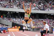 Jana Veldakova of Slovakia in the Women's Long Jump during the Sainsbury's Anniversary Games at the Queen Elizabeth II Olympic Park, London, United Kingdom on 25 July 2015. Photo by Phil Duncan.