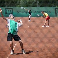 Nederland, Amsterdam , 30 juni 2011..Tennispark Amstelpark..Foto:Jean-Pierre Jans