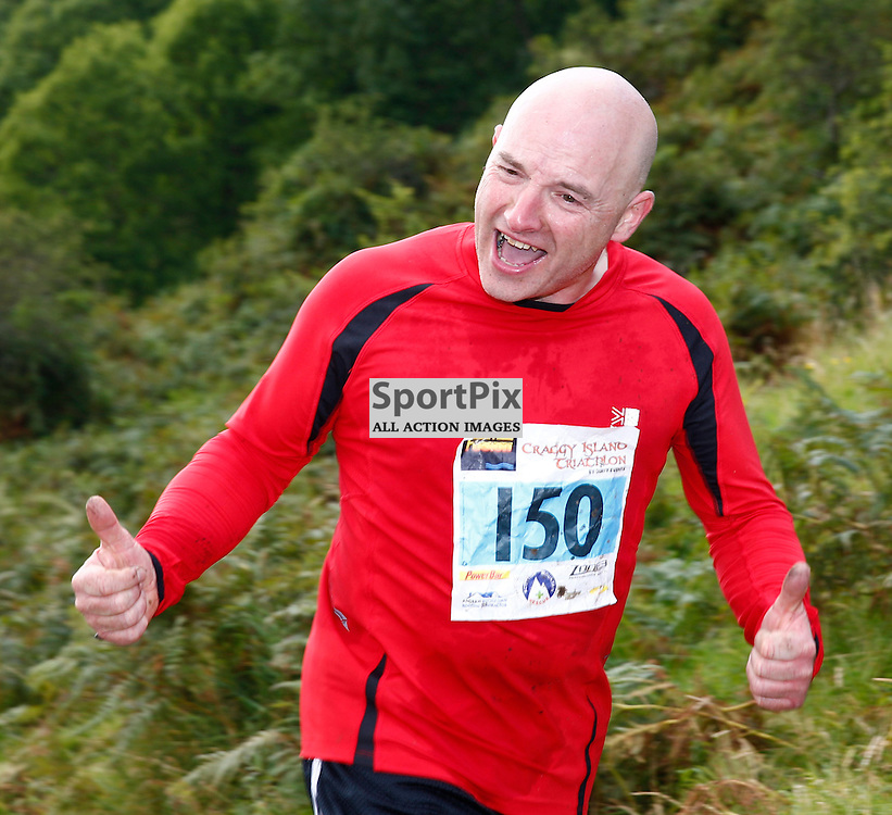 CRAGGY ISLAND TRIATHLON.....Dugald Munro competing in Craggy Island Triathlon..(c) STEPHEN LAWSON | SportPix.org.uk