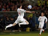 Fotball , 26. mars 2011 , EM-kvalifisering ,<br /> Norge - Danmark 1-1<br /> <br /> Euro-qual.<br /> Norway - Denmark<br /> <br /> Daniel Agger , Danmark