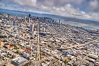 Market Street, City of San Francisco (Aerial)