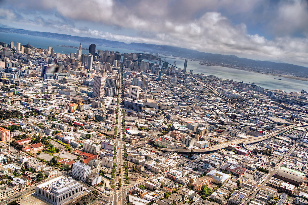 Market Street, City of San Francisco (Aerial)