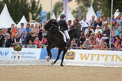 Scholtens, Emmelie, Desperado<br /> Verden - Int. Dressur- und Springfestival<br /> Finale, Dressurpferde 5j.<br /> © www.sportfotos-lafrentz.de/ Stefan Lafrentz