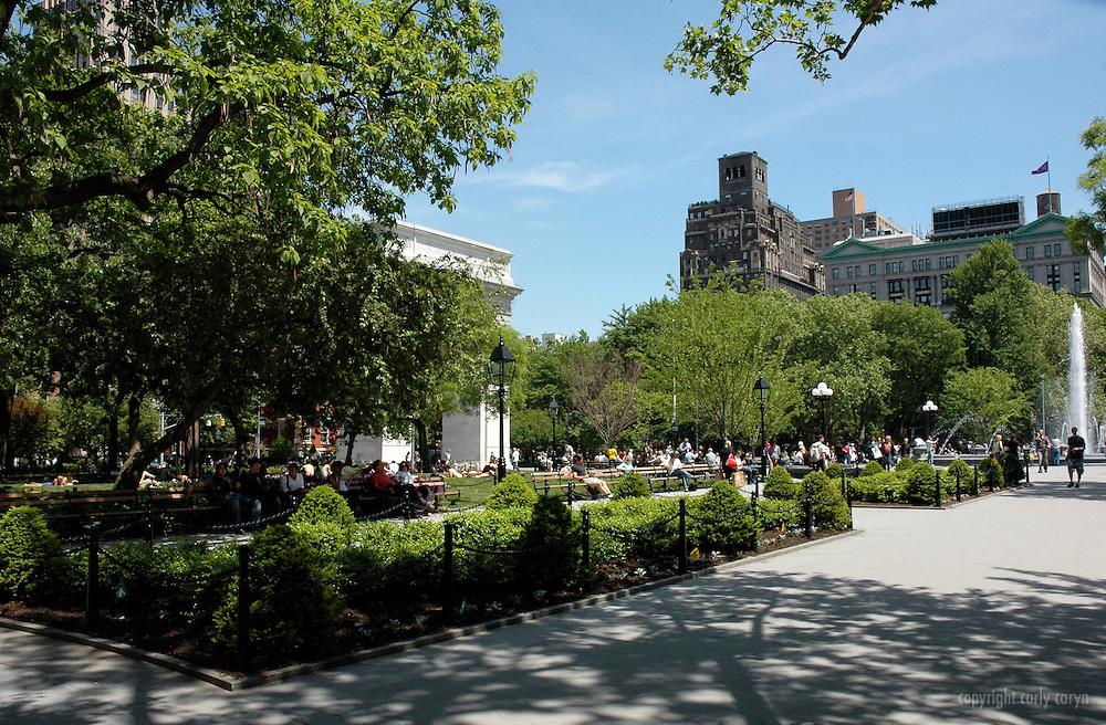 Washington Square Park, Spring 2009