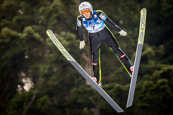 Daniela Iraschko-Stolz (AUT) during 1st Round at Day 1 of FIS Ski Jumping World Cup Ladies Ljubno 2018, on January 27, 2018 in Ljubno ob Savinji, Ljubno ob Savinji, Slovenia. Photo by Ziga Zupan / Sportida