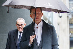© Licensed to London News Pictures. 03/03/2017. London, UK. CHRISTIAN CANDY arrives at the Royal Courts of Justice in London on 3 March 2017. Brothers Nick and Christian Candy are being sued in a dispute over a £12m loan which was used to help fund Mark Holyoake's own project at Grosvenor Gardens House in central London. Photo credit: Tolga Akmen/LNP