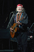 Willie Nelson performing at the Heartbreaker Banquet during SXSW 2014, Austin, Texas, March 13, 2014.