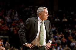 Maryland Terrapins head coach Gary Williams.  The Virginia Cavaliers defeated the Maryland Terrapins 91-76 at the University of Virginia's John Paul Jones Arena  in Charlottesville, VA on March 9, 2008.