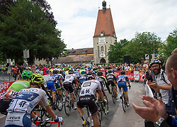 07.07.2019, Wels, AUT, Ö-Tour, Österreich Radrundfahrt, 1. Etappe, von Grieskirchen nach Freistadt (138,8 km), im Bild Das Hauptfeld des Rennens in Freistadt // the peleton Freistadt Upper Austria during 1st stage from Grieskirchen to Freistadt (138,8 km) of the 2019 Tour of Austria. Wels, Austria on 2019/07/07. EXPA Pictures © 2019, PhotoCredit: EXPA/ Reinhard Eisenbauer