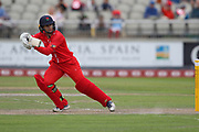 Lancashire Thunders Nicole Bolton during the Women's Cricket Super League match between Lancashire Thunder and Surrey Stars at the Emirates, Old Trafford, Manchester, United Kingdom on 7 August 2018.