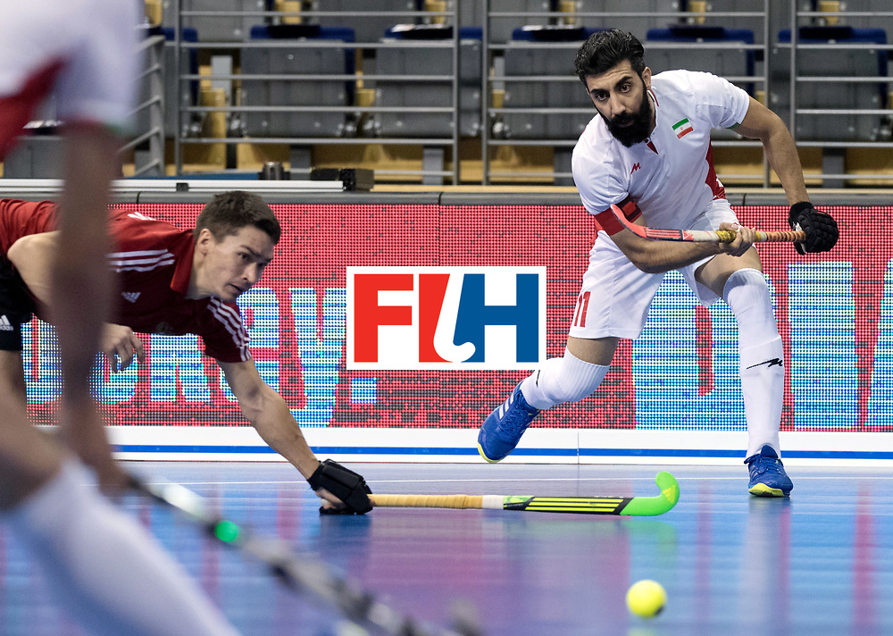 BERLIN - Indoor Hockey World Cup<br /> Men: Iran - Russia<br /> foto: BEIRANVAND Behdad.<br /> WORLDSPORTPICS COPYRIGHT FRANK UIJLENBROEK
