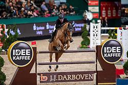 ROBERT Olivier (FRA), Tempo de Paban<br /> Leipzig - Partner Pferd 2019<br /> IDEE Kaffe Preis<br /> CSI5*<br /> 18. Januar 2019<br /> © www.sportfotos-lafrentz.de/Stefan Lafrentz