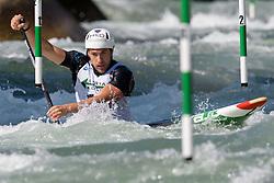 Roberto COLAZINGARI of Italy during the Canoe Single (C1) Men SemiFinal race of 2019 ICF Canoe Slalom World Cup 4, on June 28, 2019 in Tacen, Ljubljana, Slovenia. Photo by Sasa Pahic Szabo / Sportida