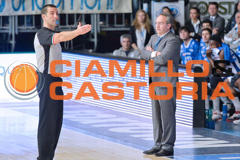 DESCRIZIONE : Cantu' Lega A 2014-15 <br /> Acqua Vitasnella Cant&ugrave; vs Pasta Reggia Caserta<br /> GIOCATORE : Stefano Sacripanti<br /> CATEGORIA : Coach <br /> SQUADRA : Acqua Vitasnella Cant&ugrave;<br /> EVENTO : Campionato Lega A 2014-2015 GARA :Acqua Vitasnella Cant&ugrave; vs Pasta Reggia Caserta<br /> DATA : 15/03/2015 <br /> SPORT : Pallacanestro <br /> AUTORE : Agenzia Ciamillo-Castoria/IvanMancini<br /> Galleria : Lega Basket A 2014-2015 Fotonotizia : Cantu' Lega A 2014-15 Acqua Vitasnella Cant&ugrave; vs Pasta Reggia Caserta<br /> Predefinita: