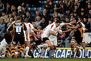 Wycombe, Great Britain, Falcon's, Phil DOWSON on the attack during the Guinness Premiership Game London Wasps vs Newcastle Falcon at Adams Park, England, on Sunday 25/11/2007   [Mandatory Credit. Peter Spurrier/Intersport Images]
