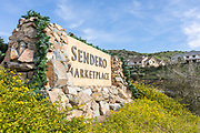 Sendero Marketplace Monument