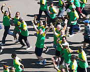 22/11/2015  repro fee. A group of  irish people travelled with Gorta-Self Help Africa travelled to the capital of Ethiopia Addis Ababa for the great Ethiopian run. In temperatures in the mid 30 degree heat and 40,000 people and a city at 7,500 feet above sea level, it's no mean feat.   Photo:Andrew Downes.