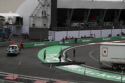 October 25, 2017 - EUM20171025DEP25.JPG.CIUDAD DE MÉXICO.- Race/Carreras-GP México.- 25 de octubre 2017.- Recorrido por el Autódromo Hermanos Rodríguez donde se lleva a cabo los preparativos al Gran Premio de México de la Fórmula Uno a disputarse este fin de semana. Foto: Agencia EL UNIVERSAL/Alejandro Acosta/RCC. (Credit Image: © El Universal via ZUMA Wire)