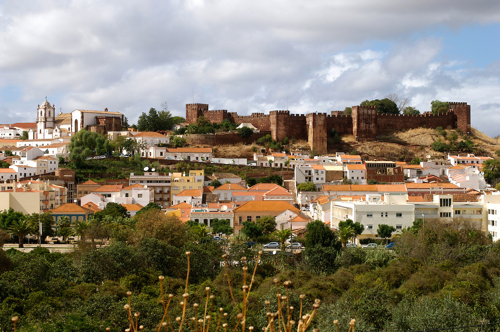 The ancient town of Silves on the Algarve, Portugal