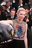 Cate Blanchett at the the How to Train Your Dragon 2 gala screening red carpet at the 67th Cannes Film Festival France. Friday 16th May 2014 in Cannes Film Festival, France.