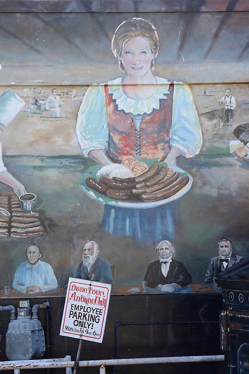 Mural, New Braunfels,Hill Country,Texas,USA