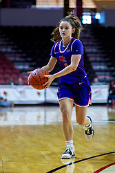 NORMAL, IL - January 05: Anna Newman during a college women's basketball game between the ISU Redbirds and the Purple Aces of University of Evansville January 05 2020 at Redbird Arena in Normal, IL. (Photo by Alan Look)