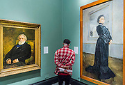Ivan Turgenev by Ilia Repin and Maria Ermolova by Valentin Serov, 1905 - Russia and the Arts: The Age of Tolstoy and Tchaikovsky - Part of a cultural exchange with the State Tretyakov Gallery in Moscow, a new exhibition marking the 160th anniversary of both galleries. Works include key figures from the 'golden age of the arts' in Russia, 1867-1914. Runs until June 26. Private view March 14. National Portrait Gallery, St Martin's Place, London.